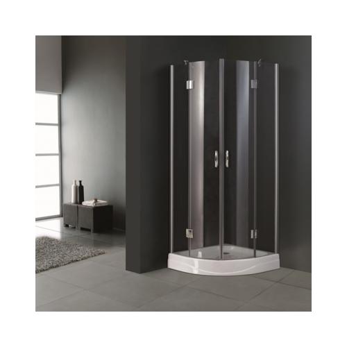 top prix superbe cabine de douche ronde 80 cm neuf pas cher achat vente cabine de douche. Black Bedroom Furniture Sets. Home Design Ideas