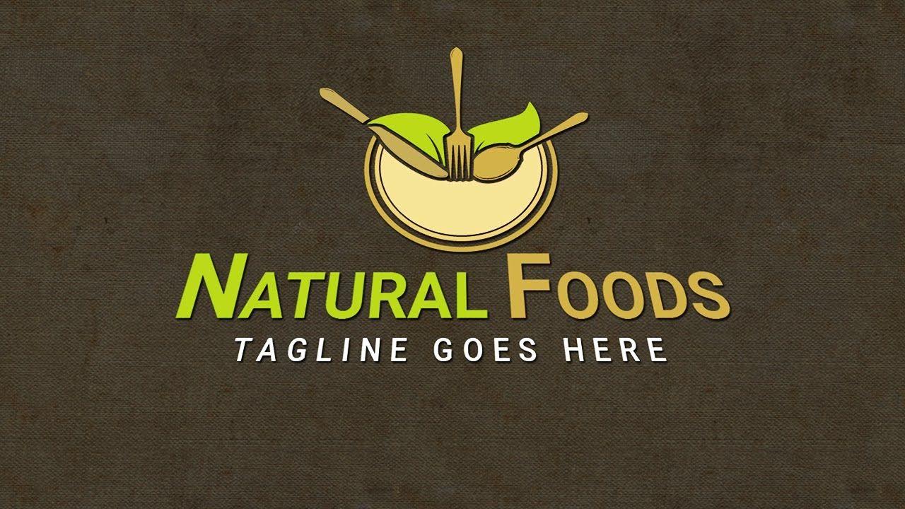 Restaurant Logo Design Illustrator Food Logo Design
