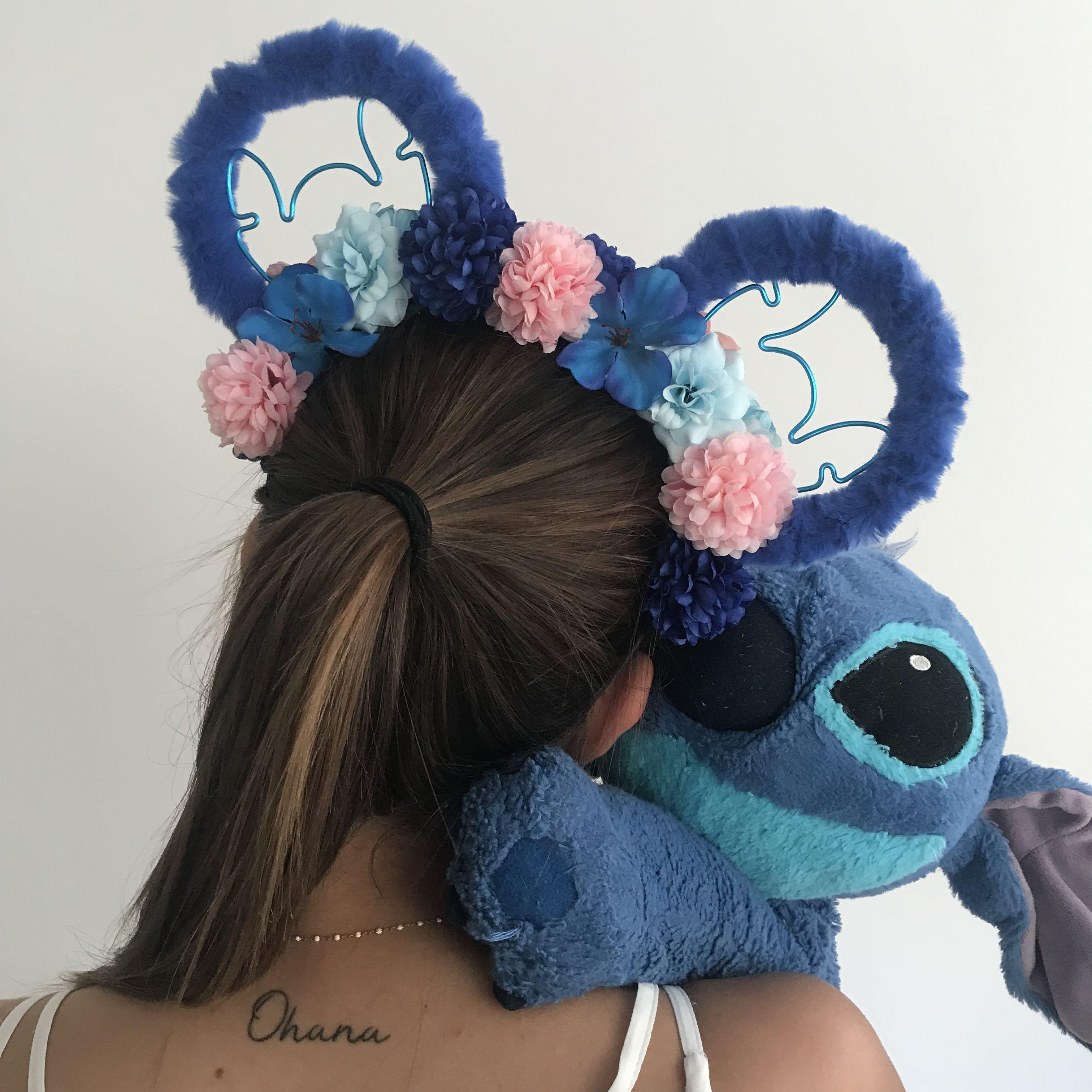 Stitch Ohana Custom Mouse Ears