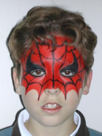maquillage spiderman kermesse pinterest maquillage. Black Bedroom Furniture Sets. Home Design Ideas