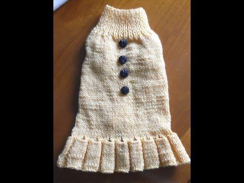 Hundepullover* Hundekleid Stricken*knitting*dog Fashion Chihuahua ...
