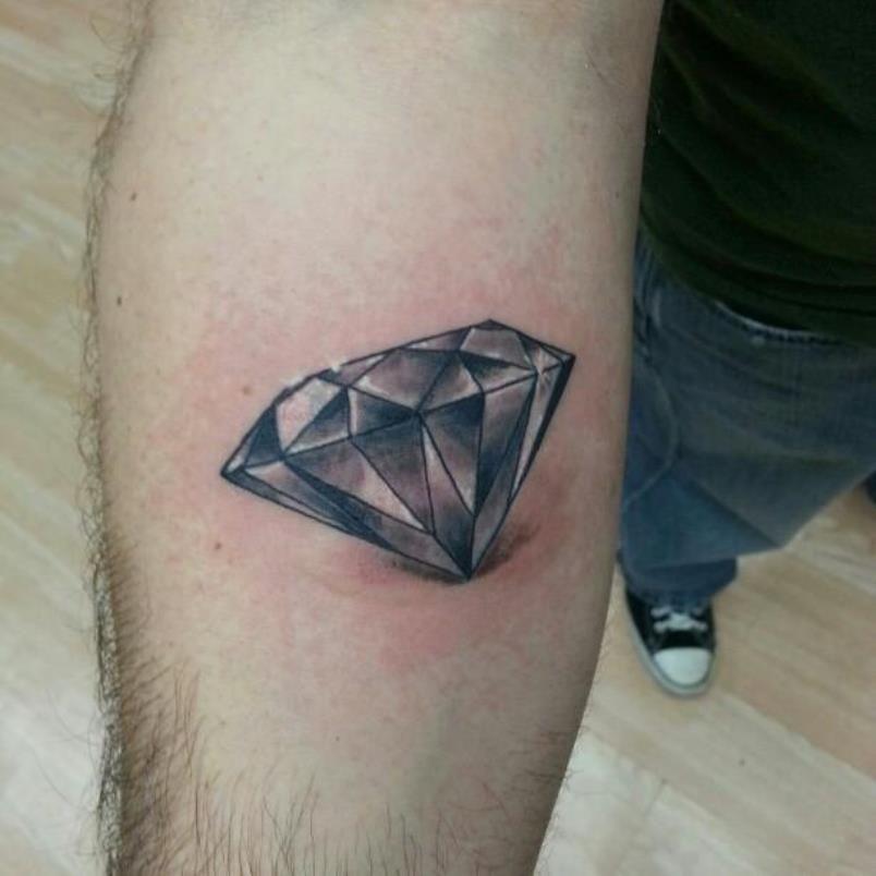 20 Diamond Tattoos Black Diamond Tattoos Diamond Tattoo Designs Diamond Tattoos