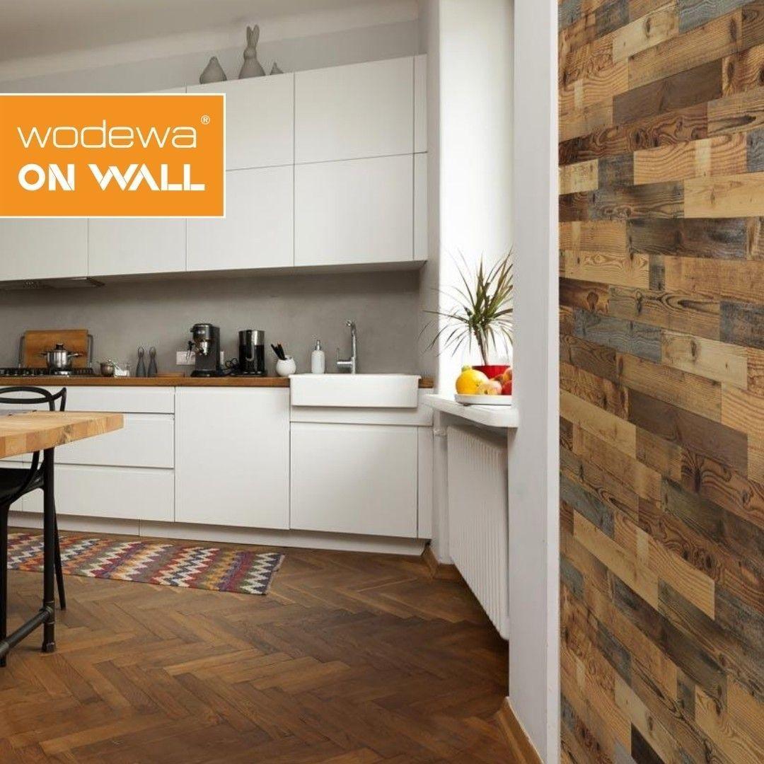 Altholz In Der Kuche I Als Wandverkleidung Ein Hingucker I Zum Selber Machen In 2020 Wandverkleidung Altholz Wandverkleidung Wandpaneele Kuche