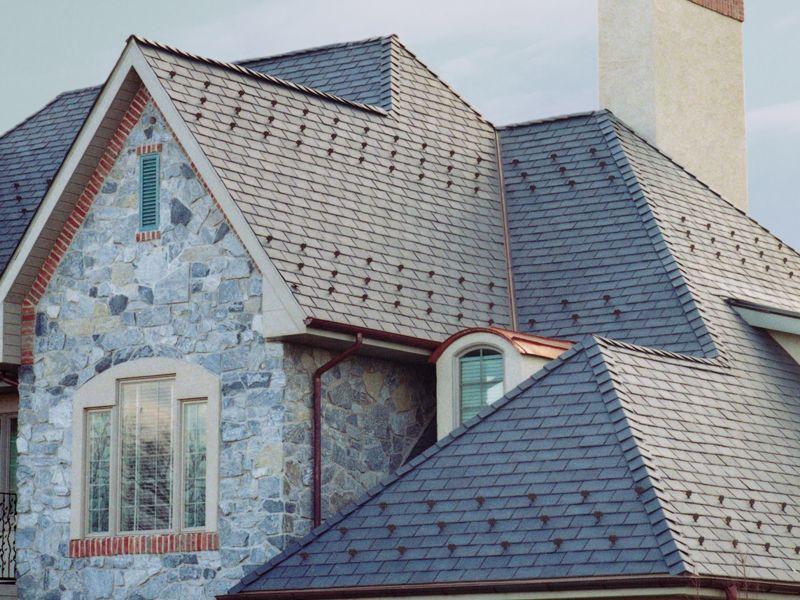 Residence with Majestic Slate EcoStar Slate roof tiles