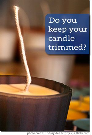 Do You Keep Your Candle Trimmed? - Renewed Daily