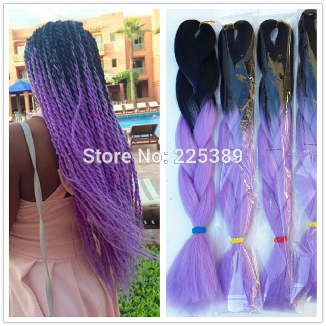 crochet box braids blacklight purple box braids
