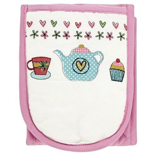 Teatime oven gloves