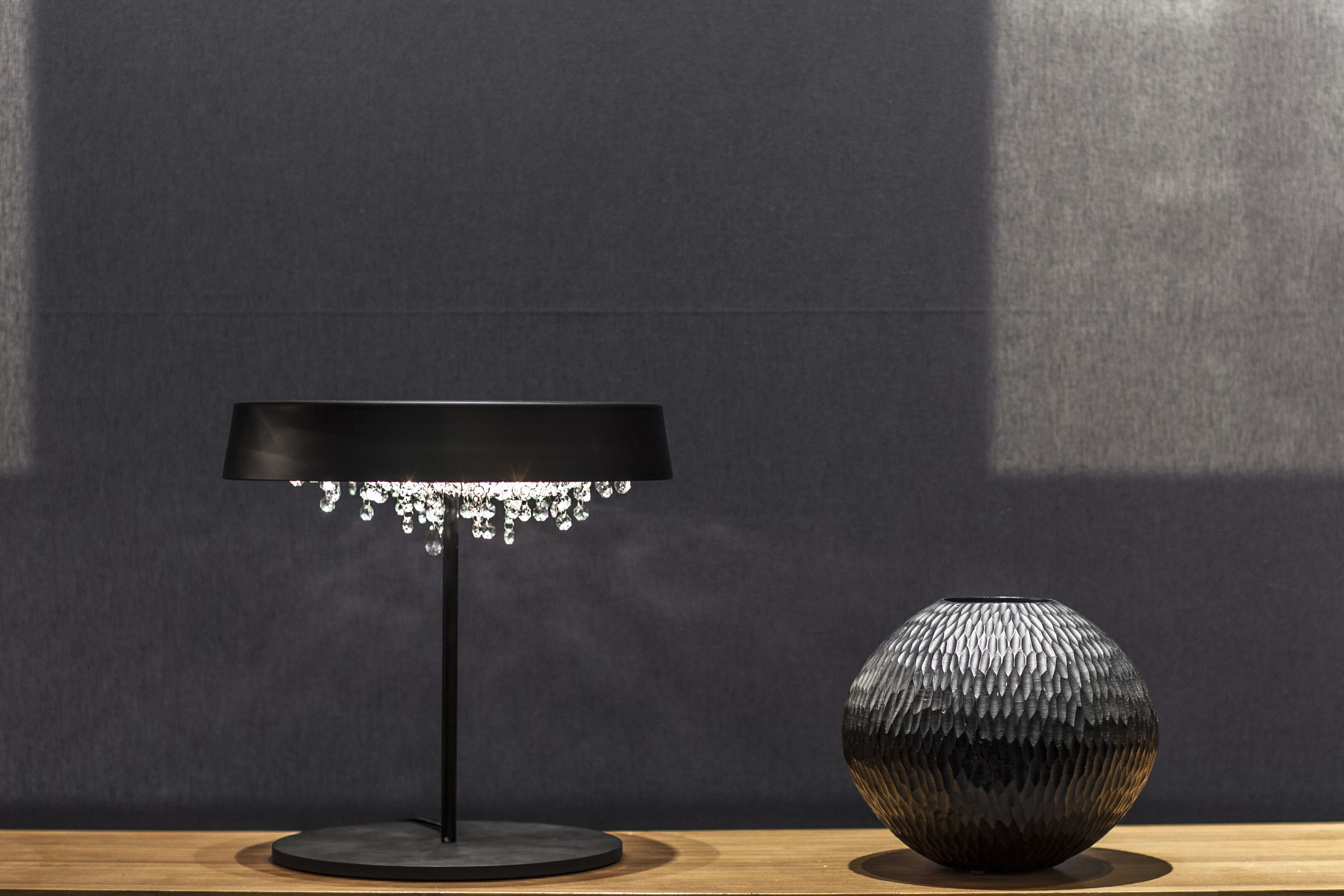 Tondo Table Lamp | Lamp, Crystal table lamps, Cool lamps