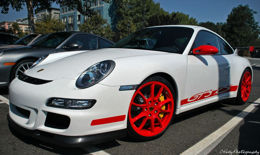 Love Red Rims On A White Car Could Work