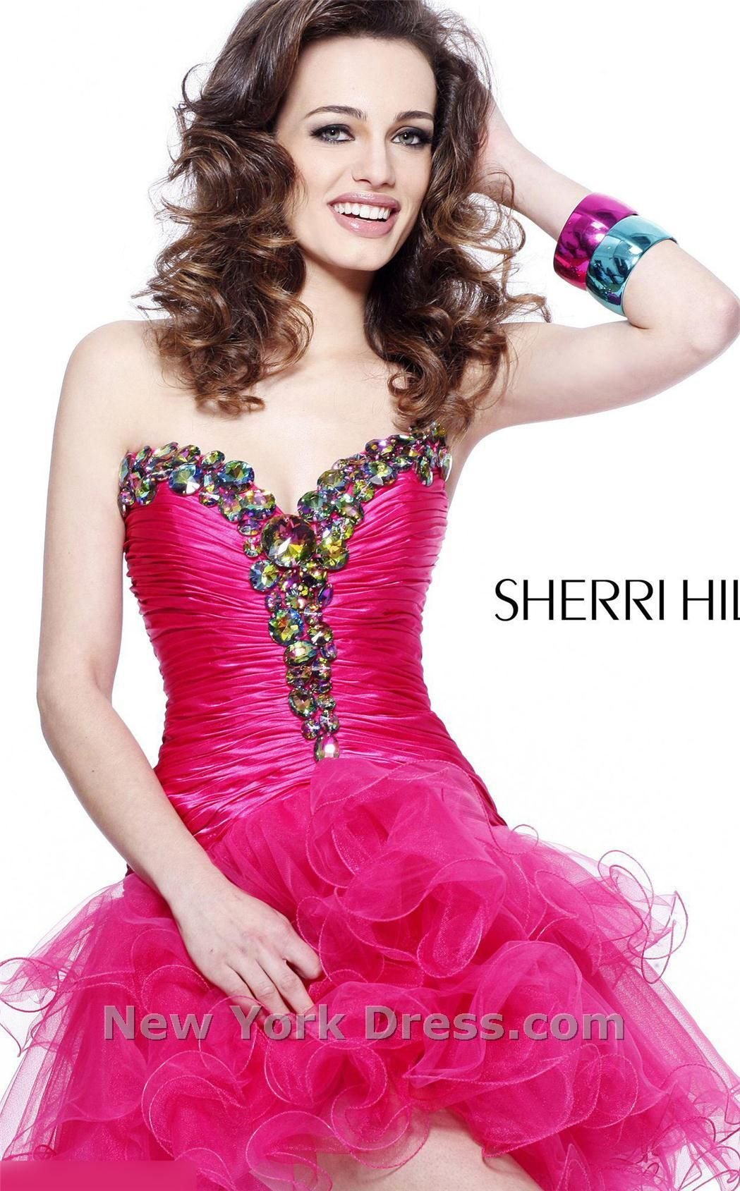 Sherri Hill 2912 Dress | Diary of a Fashionista | Pinterest