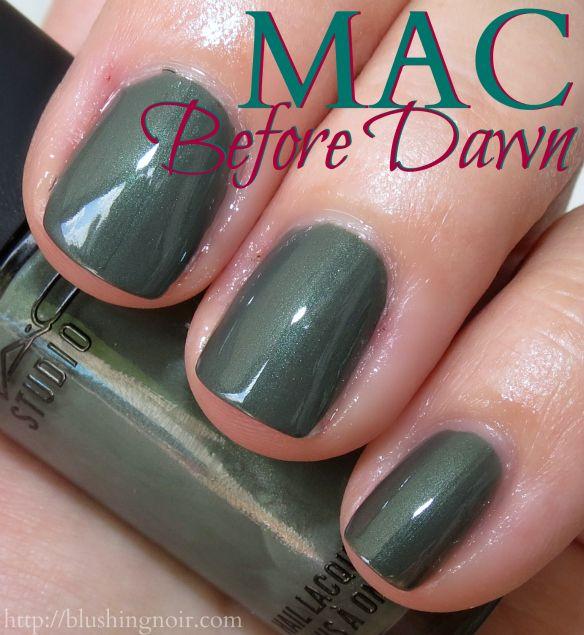 MAC A Novel Romance Nail Polish Swatches | All about cosmetics ...