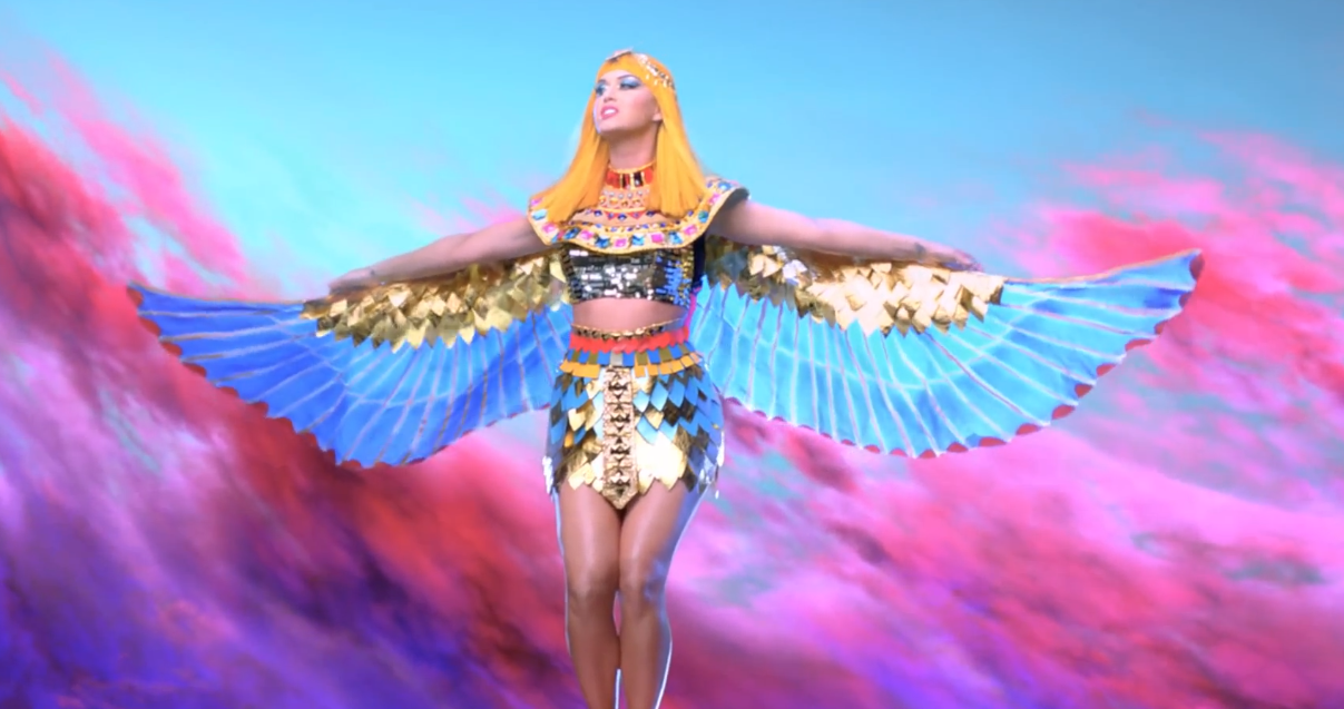 katy perry cleopatra costume | Inside by the Music ... Katy Perry Dark Horse Egyptian Costume