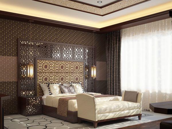 . hotelroom arabic style by Maruf Madiyarov  via Behance   Hotel