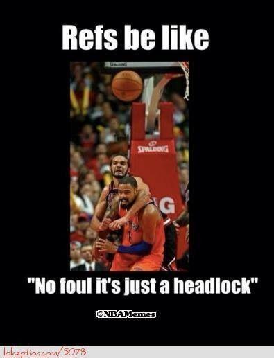 bad basketball ref | Funny | Funny basketball memes ...
