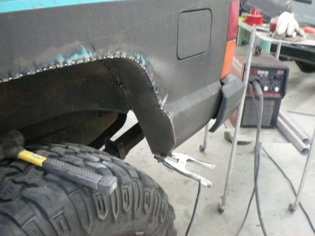 Rear Fender Trim, NON cut and fold method - NAXJA Forums