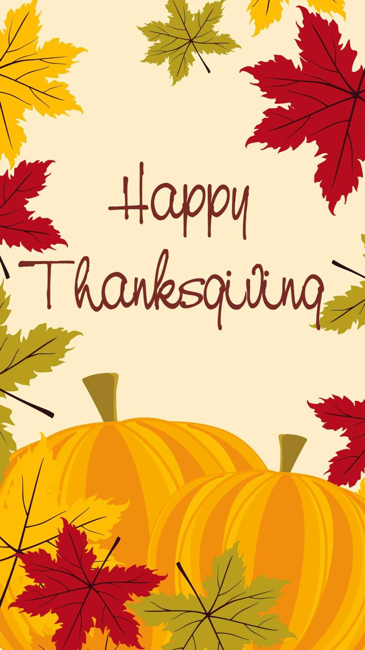 iPhone wallpaper (With images) Thanksgiving iphone
