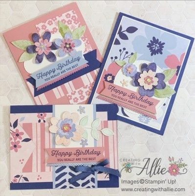 Three Cute Birthday handmade cards you want to mak
