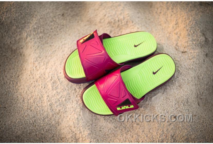 Nike Lebron Slide Elite 2 Raspberry 578251 630 01