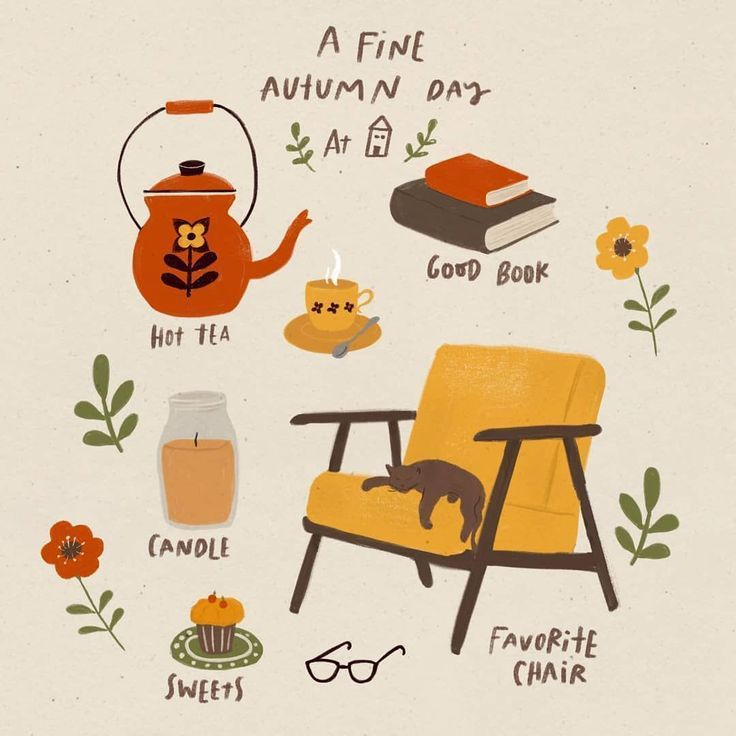 ?My kind of fine autumn day ? have a good one too ? . . . . #fallcolor #autumnstyle #illustratorsoninstagram #di… | Autumn aesthetic, Autumn inspiration, Autumn day