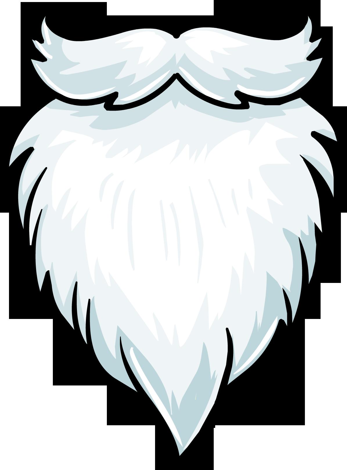 christmas Santa beard, Beard clipart, Beard vector