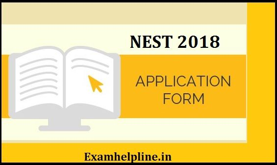 NEST Application Form 2018 (With images) Application