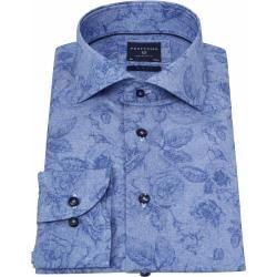 Profuomo Hemd Sf Blau Blumen Profuomo #flowerdresses