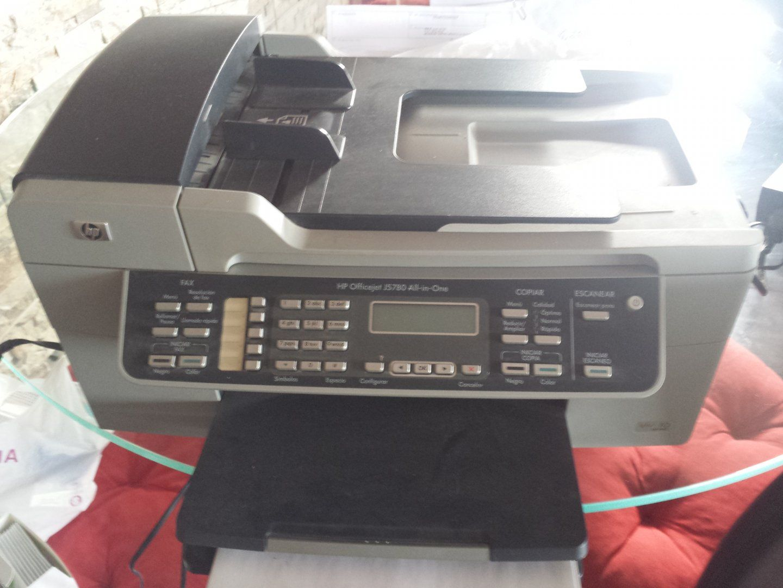 50 00 u20ac hp officejet j5780 todo en uno impresora fax esc ner y rh pinterest ca