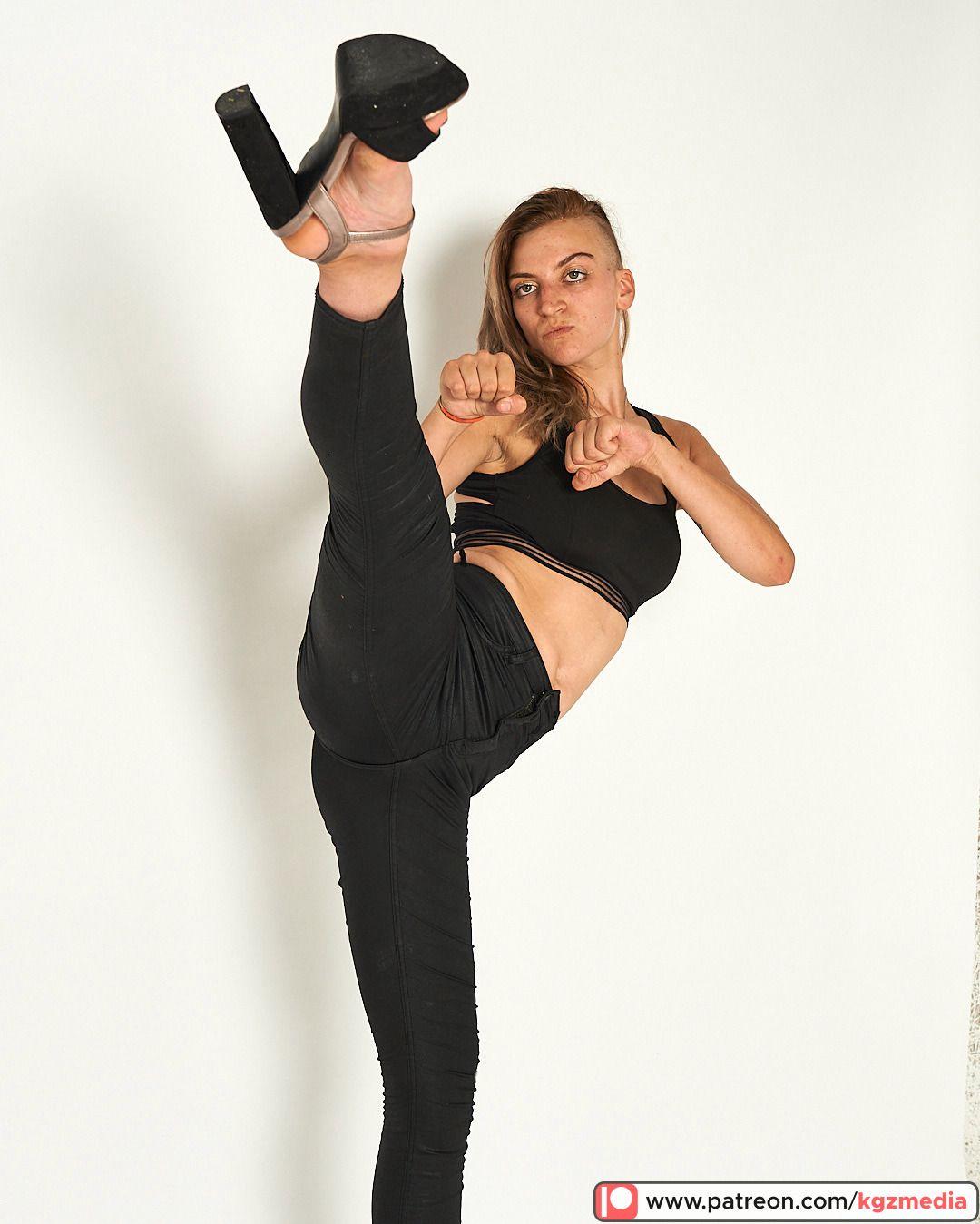 Taekwondo Powergirl