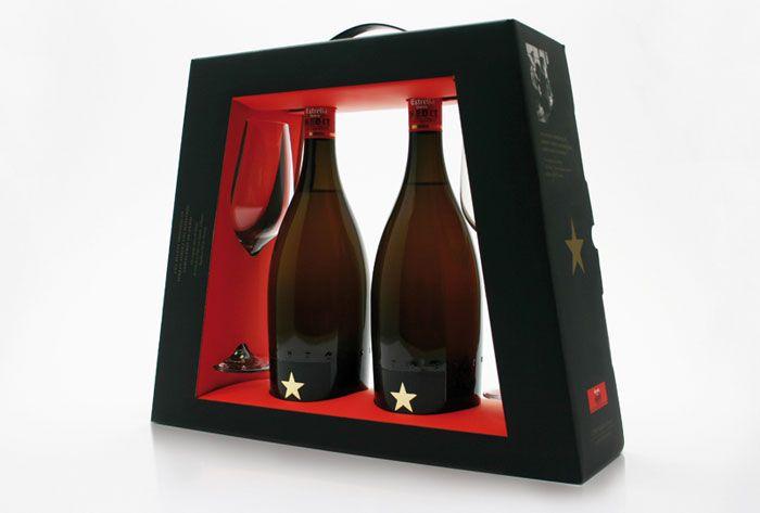Estrella Damm Inedit The Dieline Envases De Cerveza Envases Y Embalajes Envasado De Vino