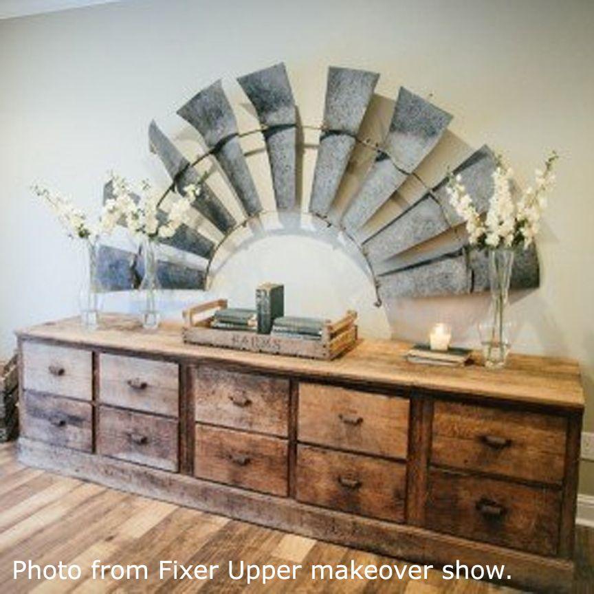 VIP International 1/2 Windmill Wall Plaque   FH1569 · Magnolia Home DecorMagnolia  ...