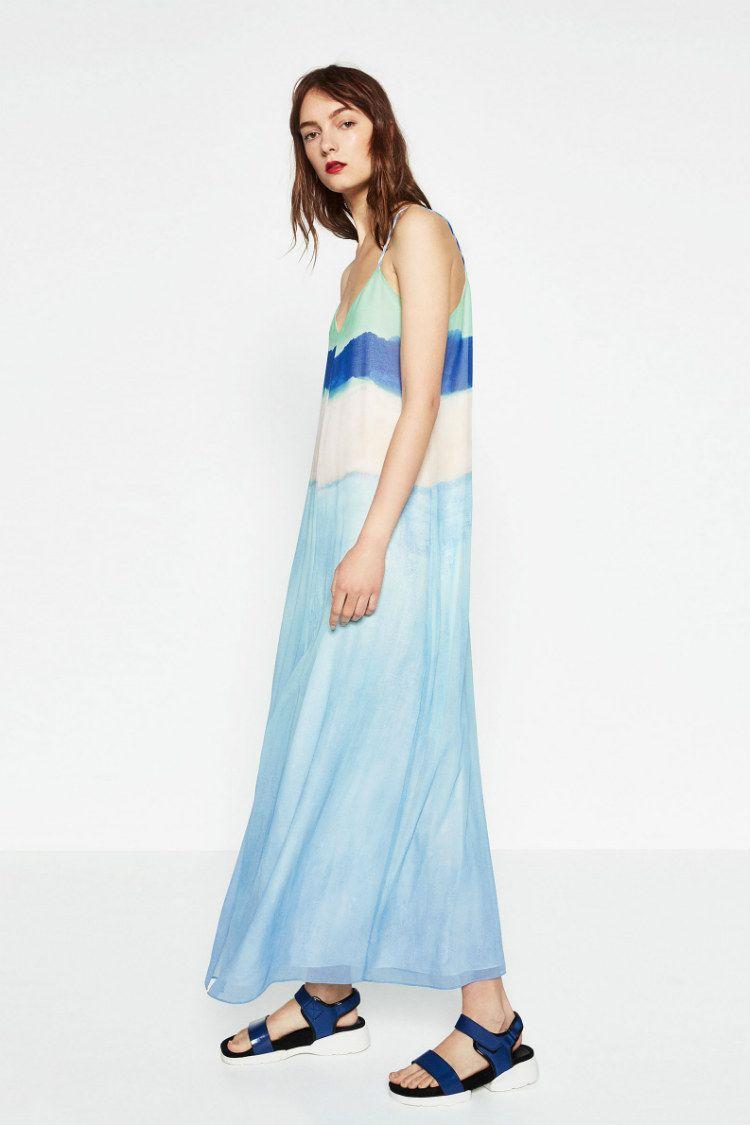 Zara vestidos largos zara