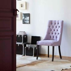 silla de comedor moderna carol ambiente - Sillas Modernas De Comedor