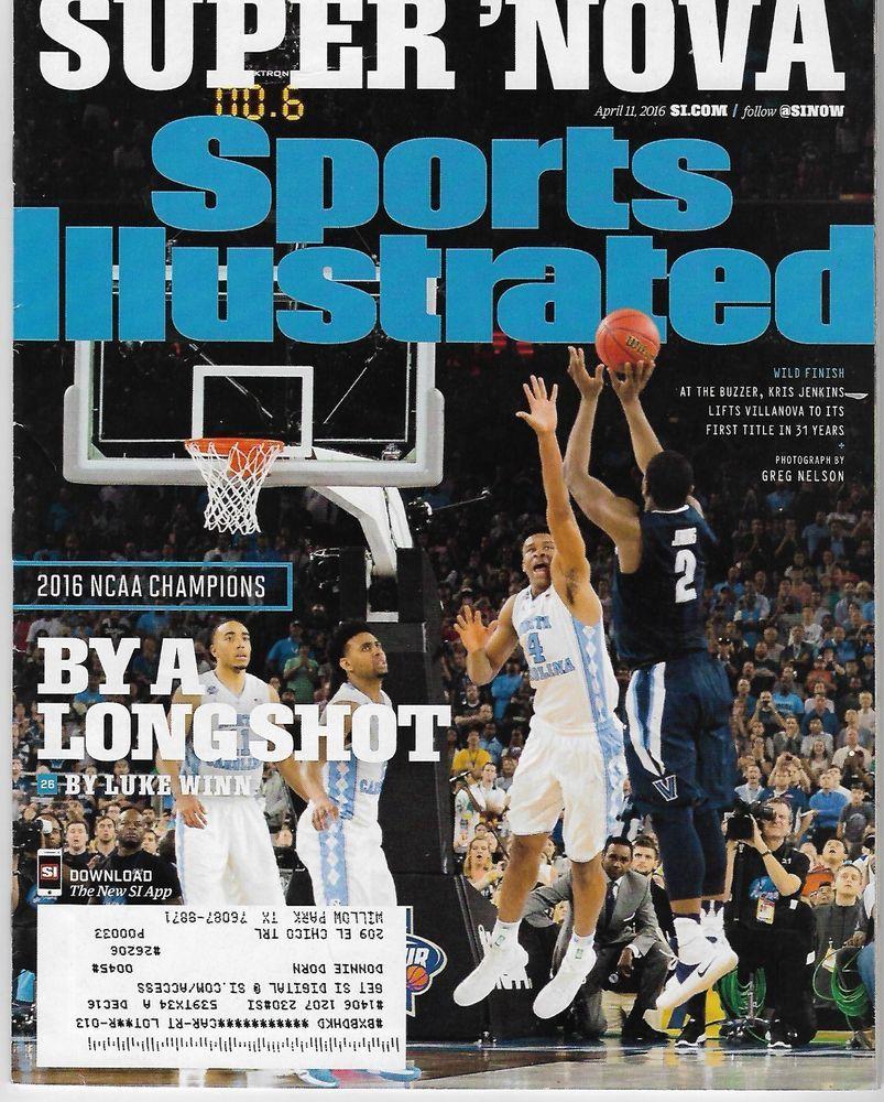 Sports Illustrated April 11, 2016 Villanova National