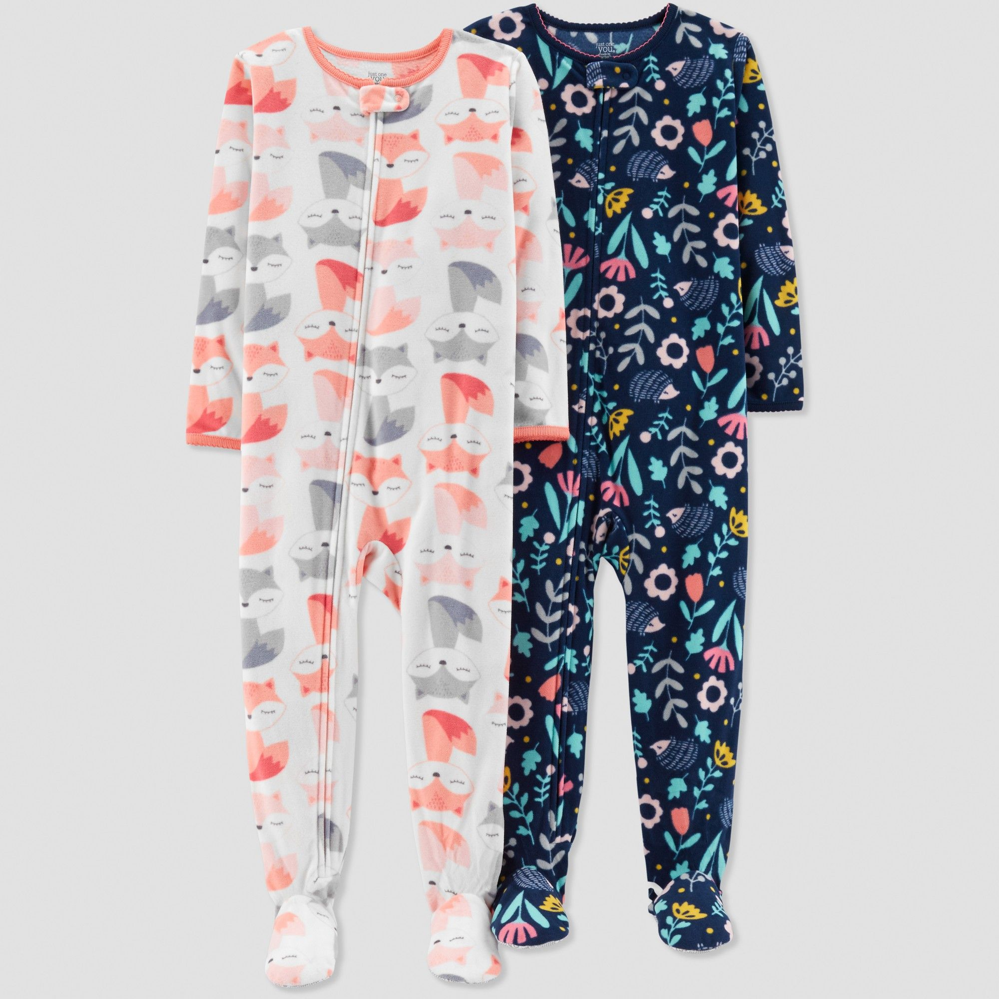 9d32db3ab Toddler Girls  Fox Pajama Set - Just One You made by carter s White ...
