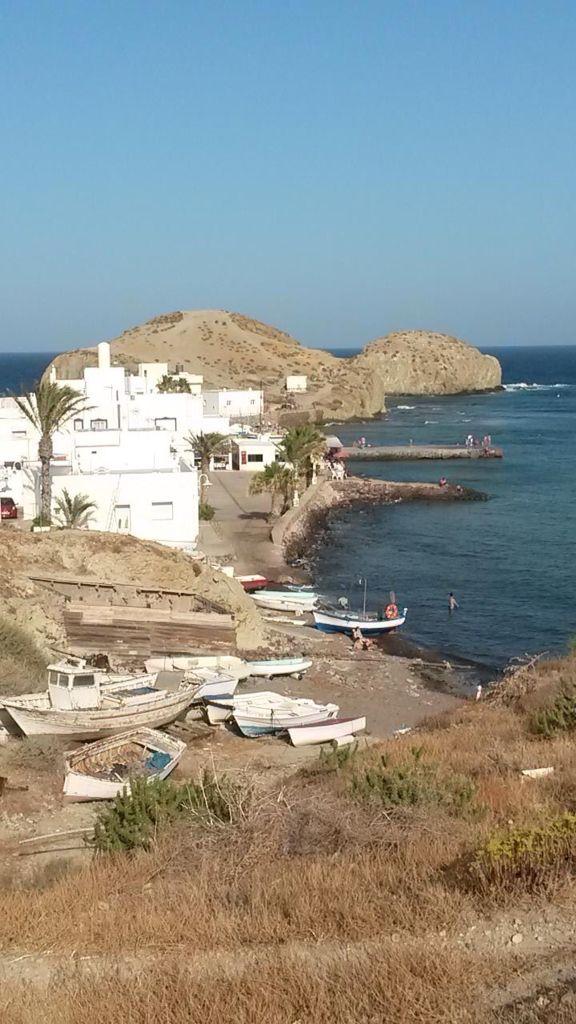 La Isleta Del Moro Costa De Almeria Lugares De España Almería