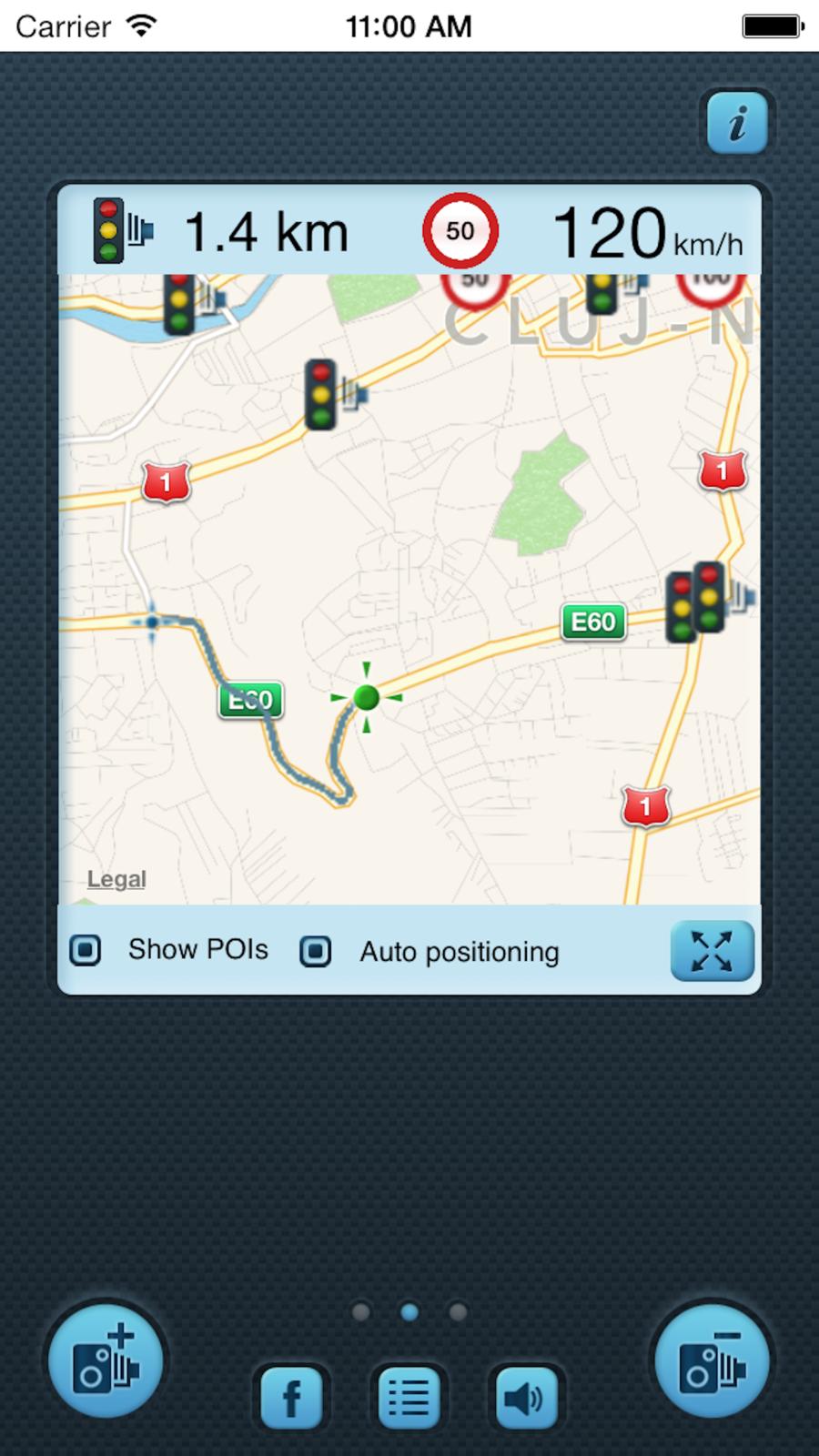 i SpeedCam Germany (Speed Camera Detector with GPS Tracking