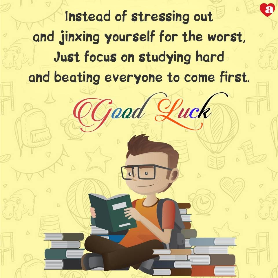 Its exam time archies wishes you all a big good luck visit its exam time wishes you all a big good luck visit store world square mall wsm for good luck cards kristyandbryce Images