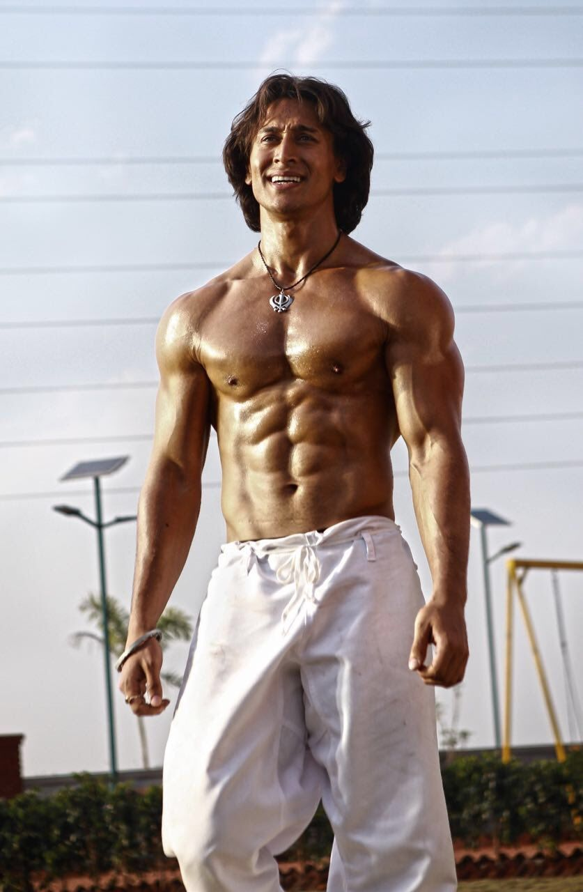 Tiger Shroff #Photoshoot #Bollywood #India #Fashion #TigerShroff #BodyBuilding #MartialArts