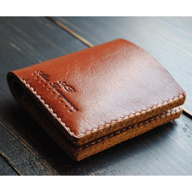 472f8decd72c Купить в AXES ➞ Кошелек мужской кожаный Purse Cinnabar brown leather ☎:  (096)