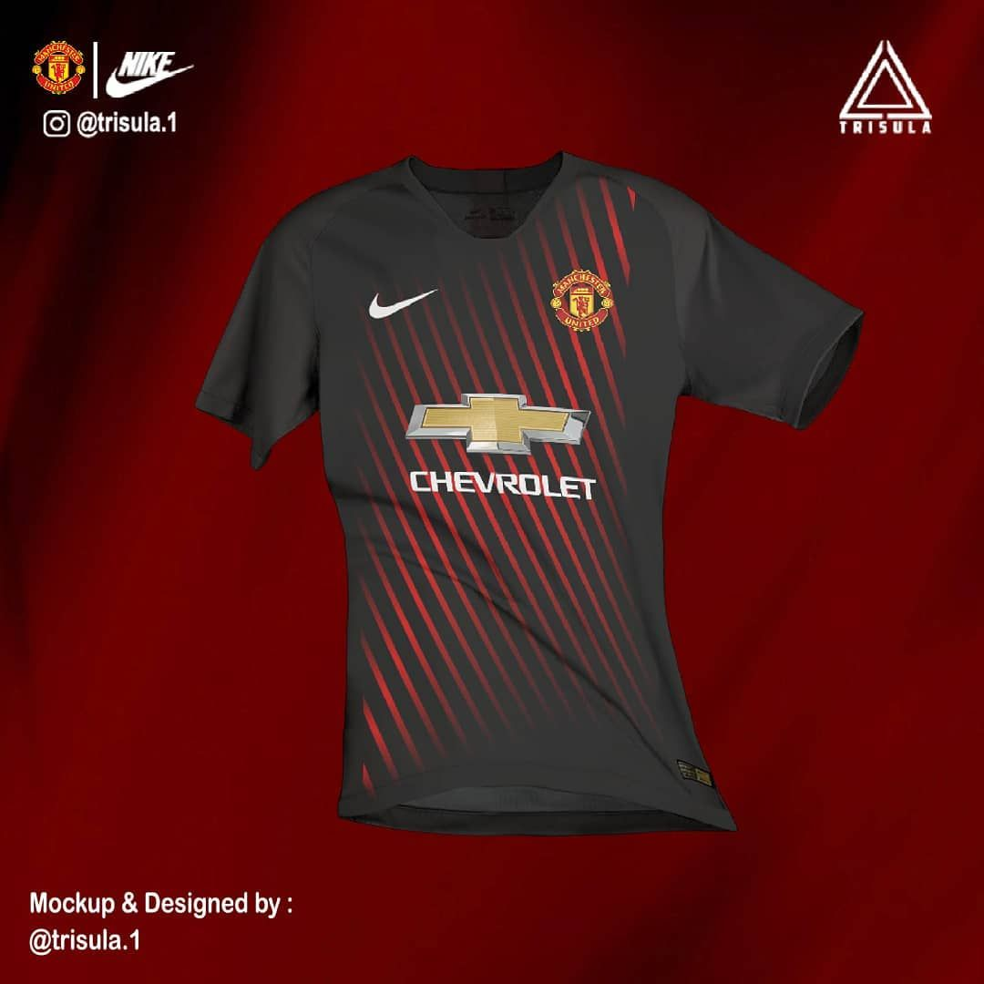 Manchester United F.C. away kit concept | Camisas de