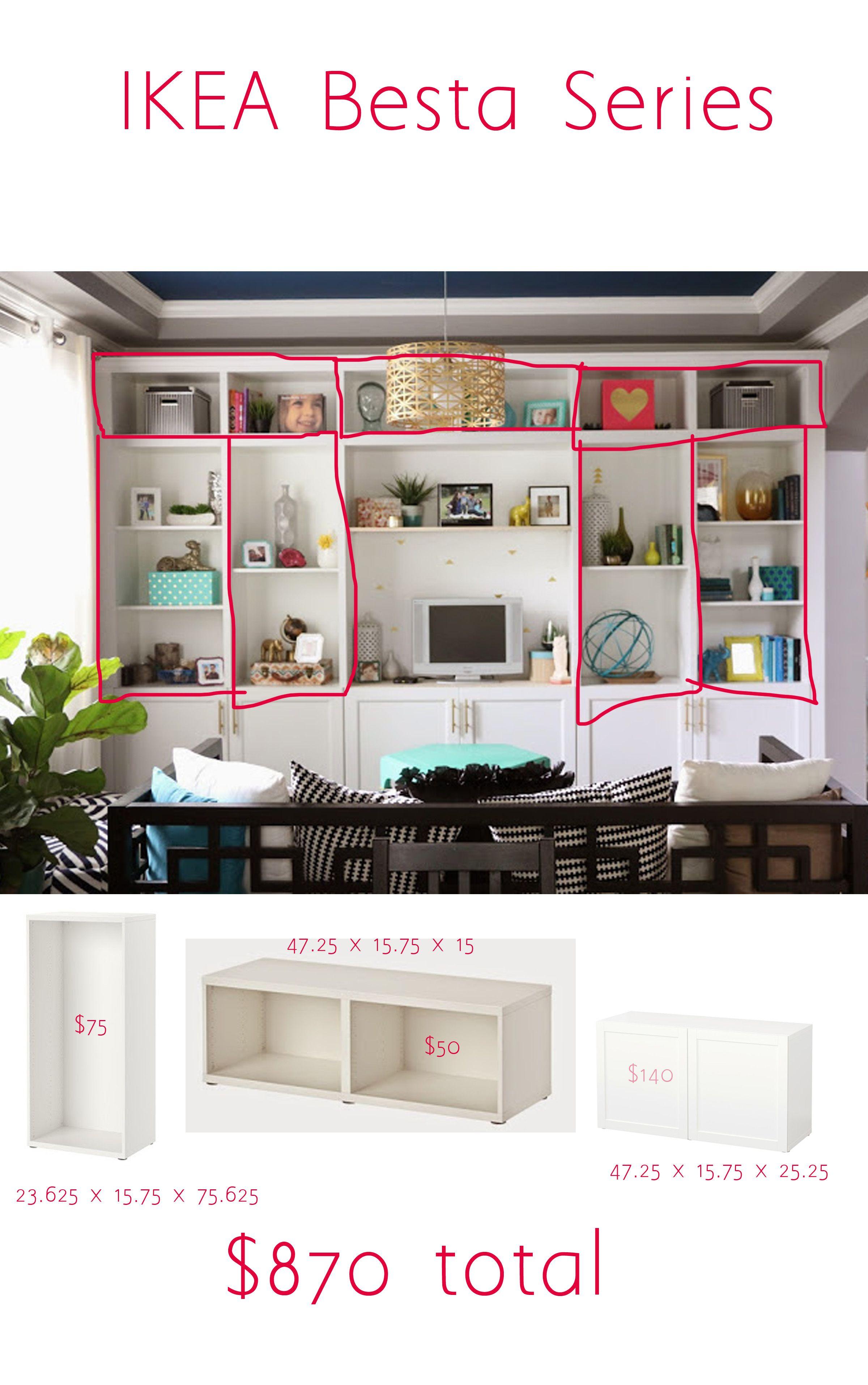ikea besta built in pinterest. Black Bedroom Furniture Sets. Home Design Ideas