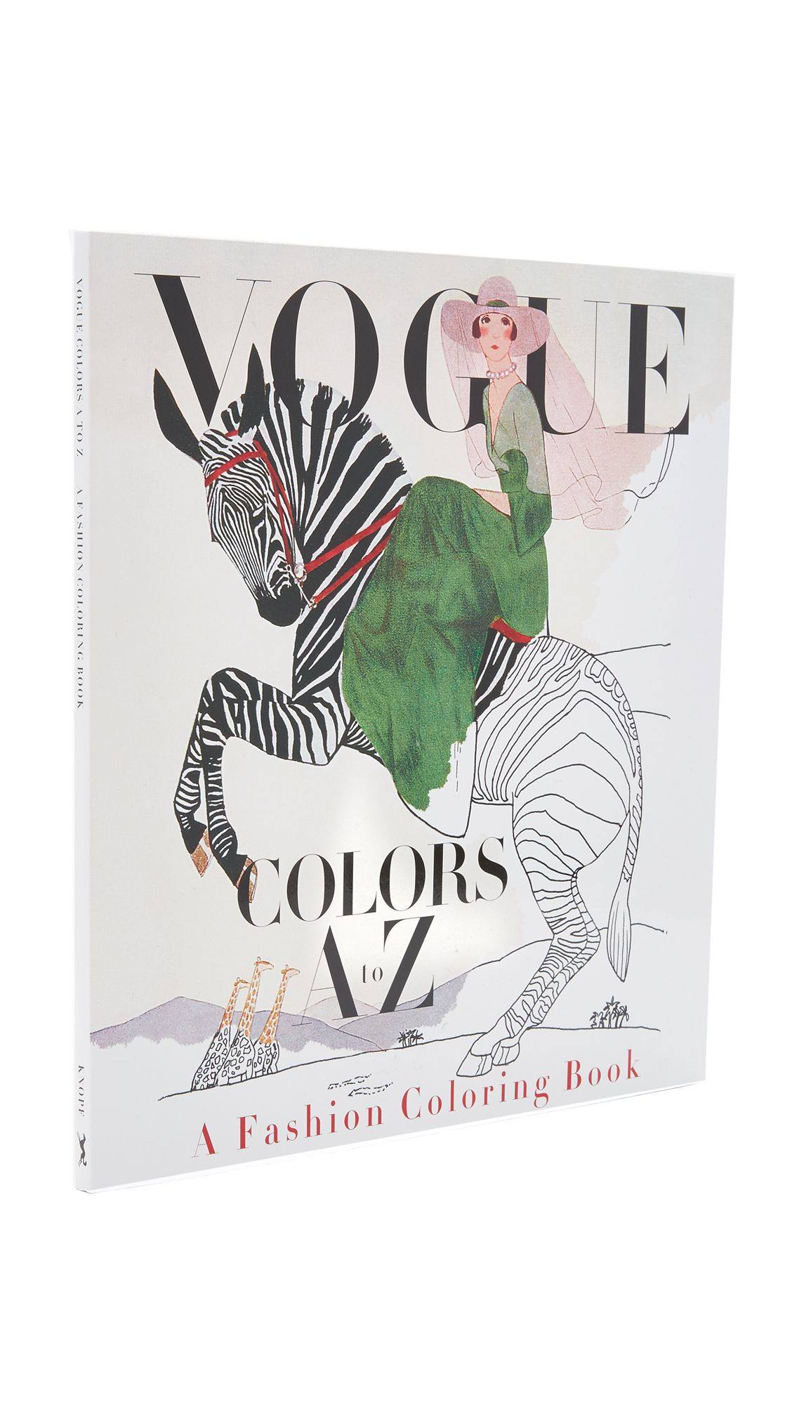 Vogue Colors A To Z Fashion Coloring Book Coloring Books Fashion Books