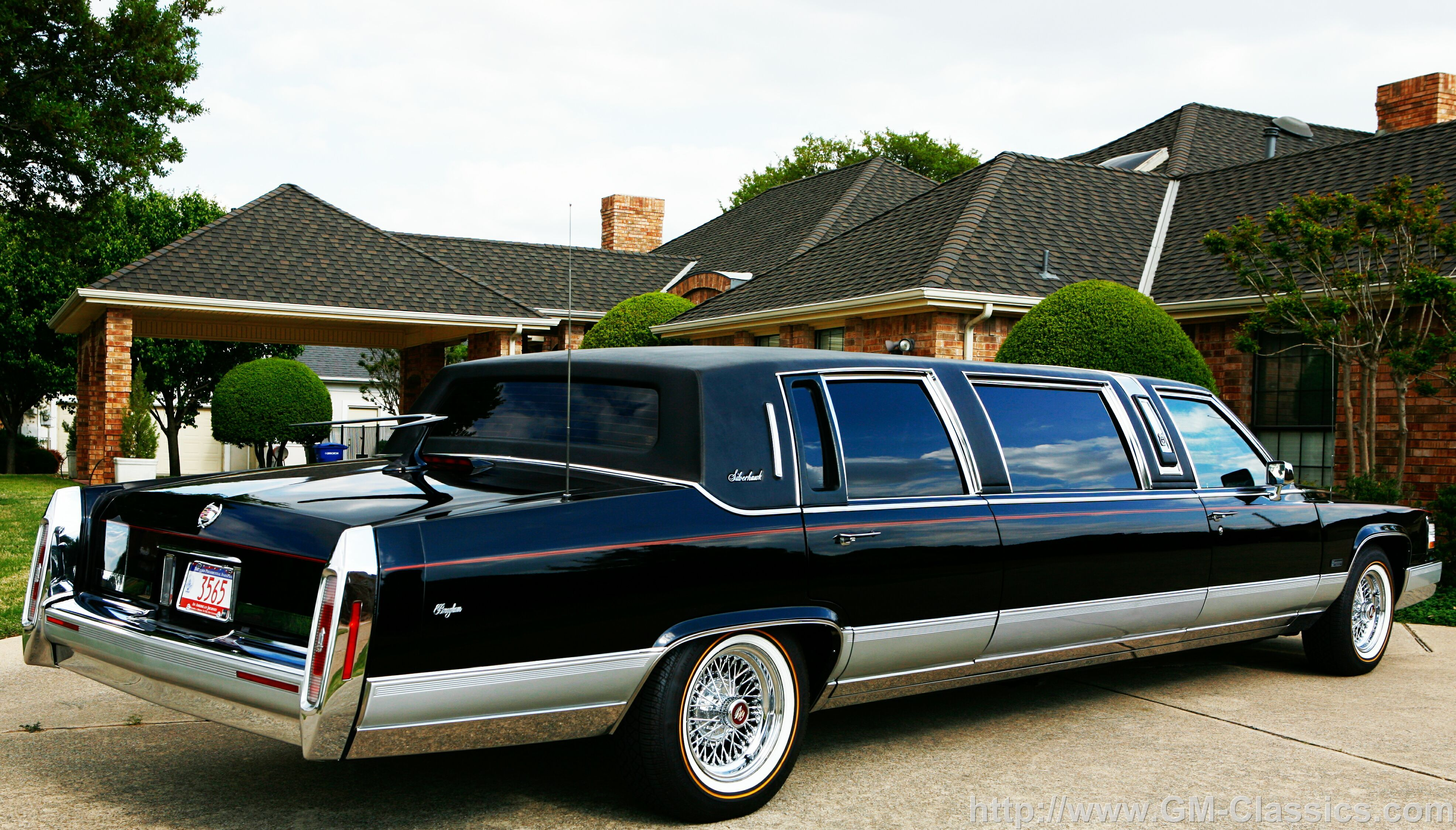 1990 Cadillac Brougham Limo For Sale I Just Came Across