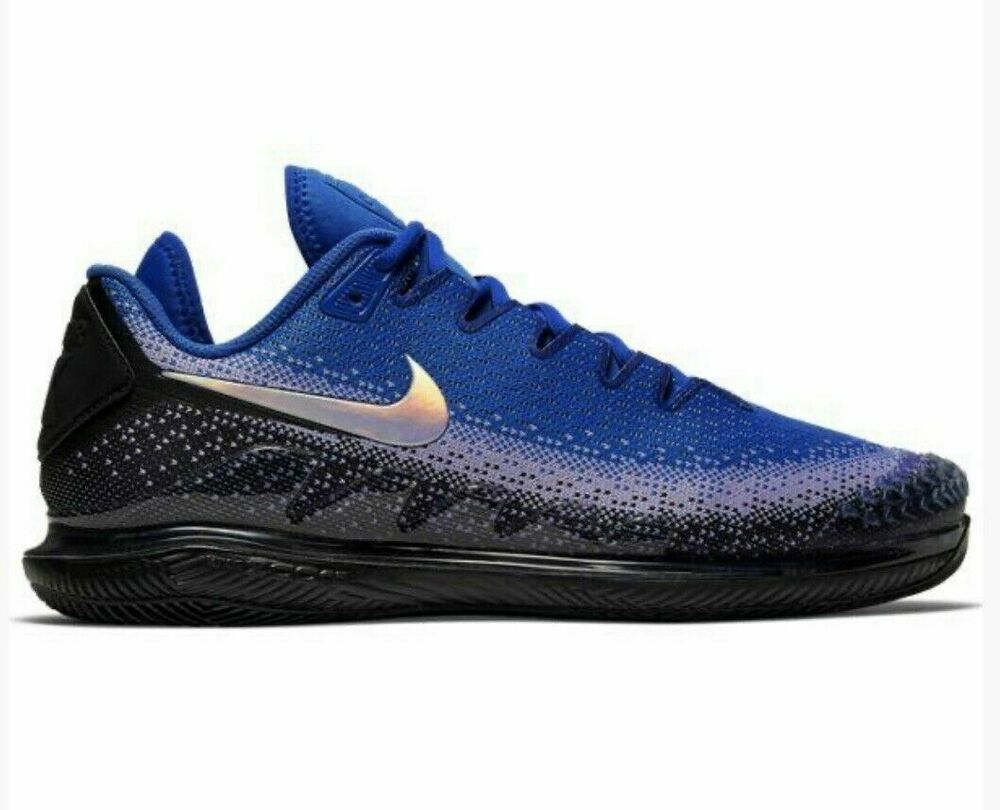 Nike Air Zoom Vapor X Knit Tennis Shoes Mens 8 5 Ar0496 001 Black Racer Blue Nike Casual V 2020 G Muzhskaya Obuv Nike Muzhchiny Nike