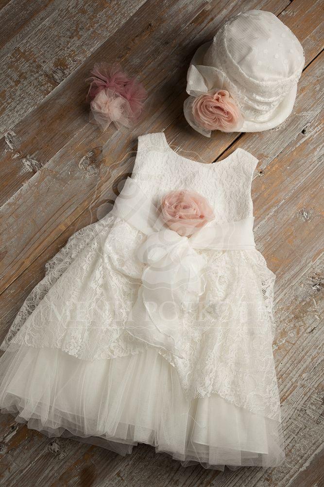 9d4714e6cbee Βαπτιστικά ρούχα για κορίτσι της Cat in the hat Girls Baptism Dress