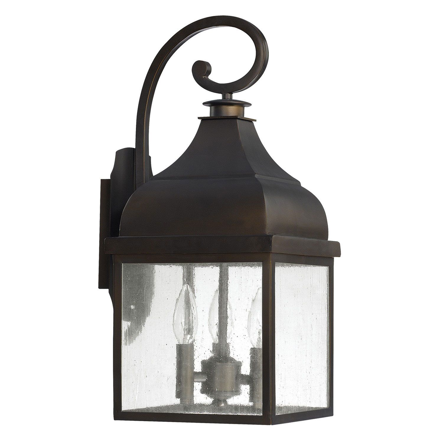 Capital Lighting Fixture pany Westridge Old Bronze Three Light