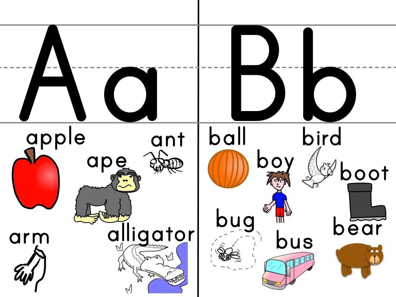 Alphabet Wall Flashcards