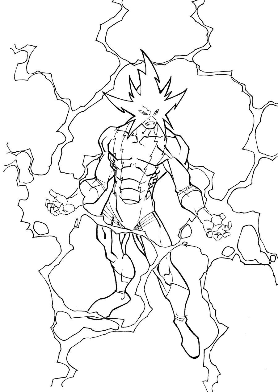 Electro By Carlobarberi Coloring Pages Spiderman Coloring Spiderman Electro