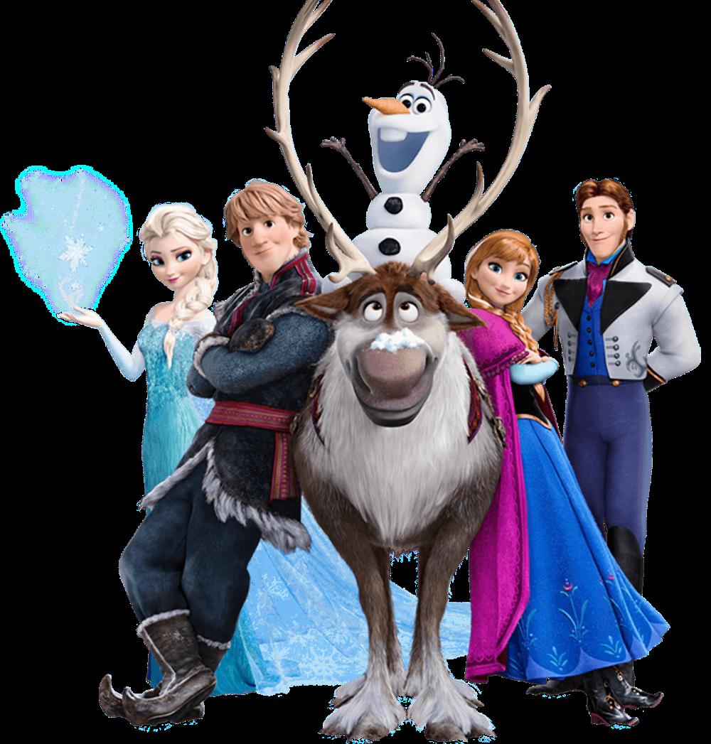 Png Frozen Elsa Anna Olaf Png World Kartun Karakter Disney Animasi