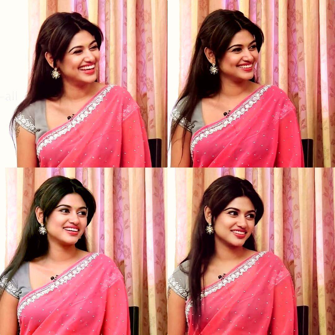 Actress Oviya Hot Photos WallPapers Saree Images Hot